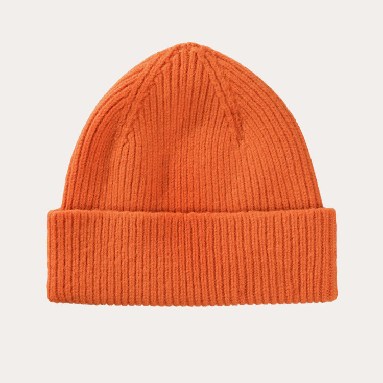 Le Bonnet Flame Orange Beanie Hat