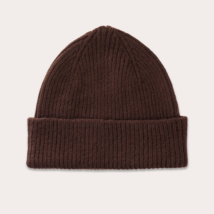 Le Bonnet Gingerbread Brown Beanie Hat