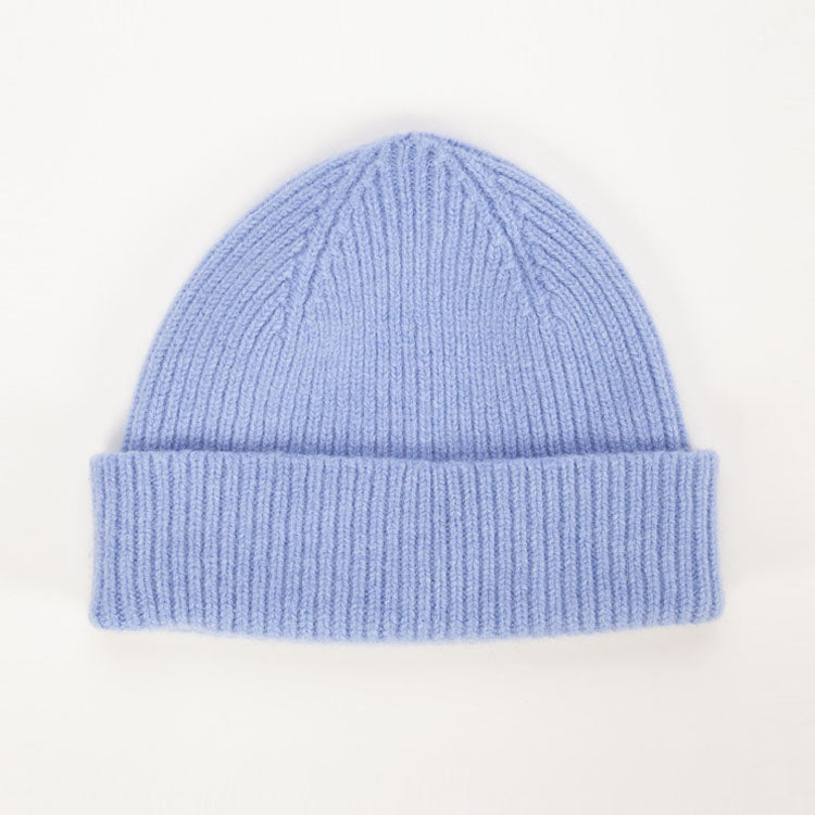 Product shot: Le Bonnet Light Blue Sky Beanie Hat