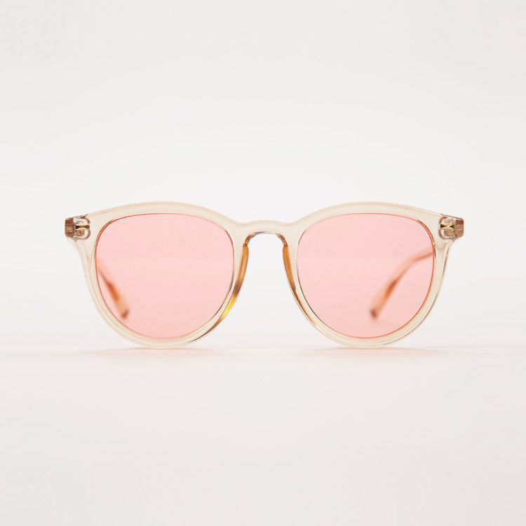 Product shot: Le Specs Fire Starter Blonde Sunglasses