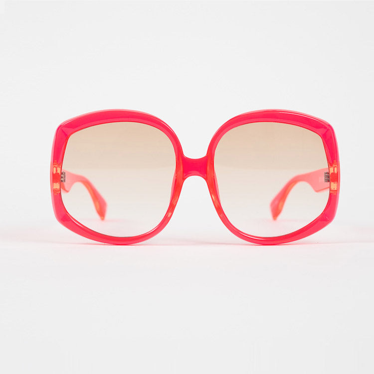 Le Specs Illumination Hot Pink Sunglasses