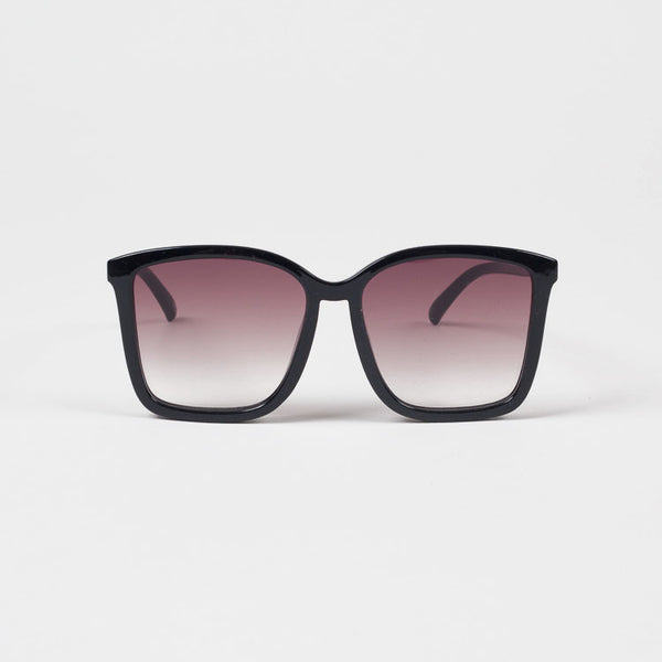 Product shot: Le Specs It Ain't Baroque Black Sunglasses