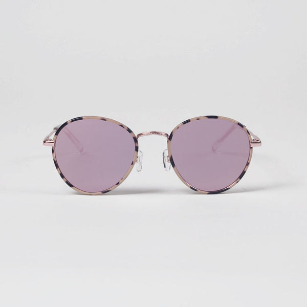 Product shot: Le Specs Zephyr Deux Mist Tort Mirrored Sunglasses