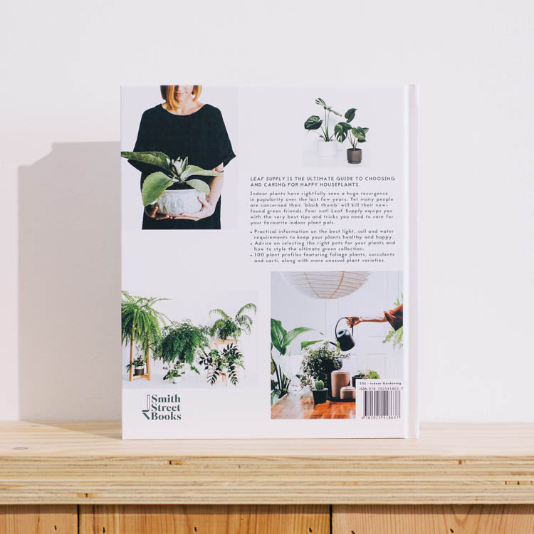 Product shot - Leaf Supply: A Guide to Keeping Happy House Plants
