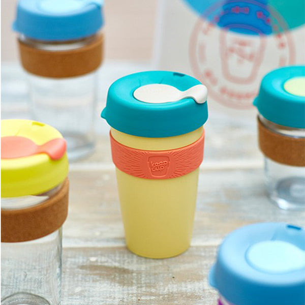 KeepCup Reusable Travel Cup 340ml | Custard Apple