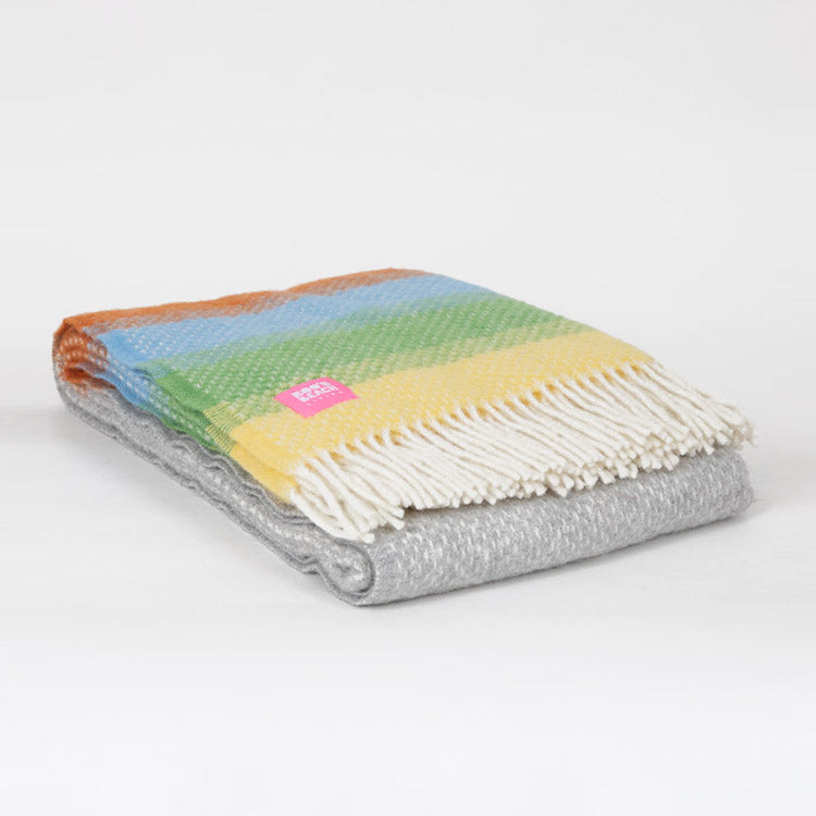 Lifestyle Ombre Calypso Wool Throw