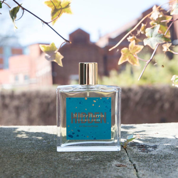 Lifestyle shot of Miller Harris Hidden On The Rooftops Eau de Parfum