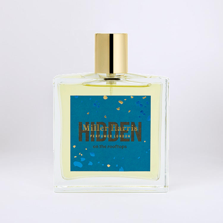 Product shot: Miller Harris Hidden On The Rooftops Eau de Parfum 50ml