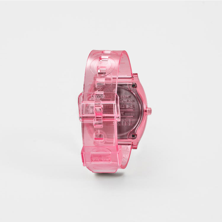 Nixon Medium Time Teller P Pink Watch - back view