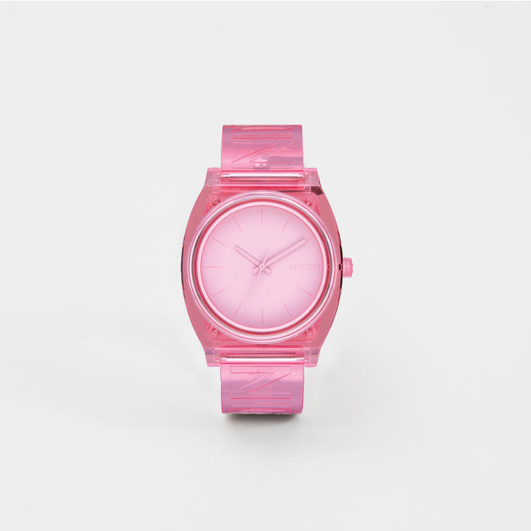 Nixon Medium Time Teller P Pink Watch