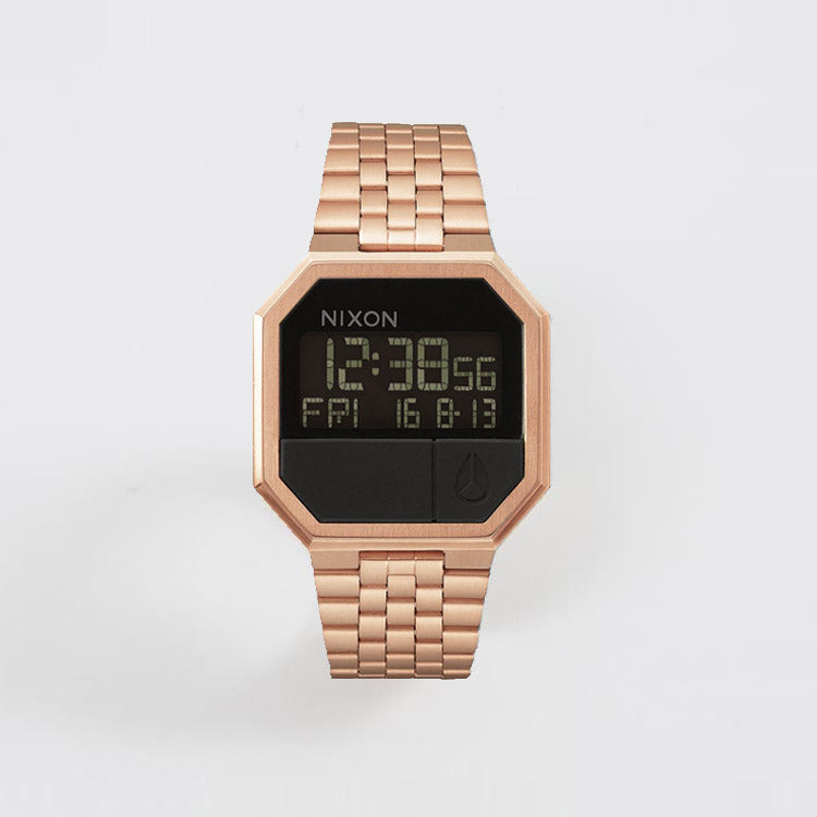 Product shot: Nixon Re-Run All Rose Gold Watch