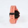 Product shot: Back shot of the Ladies Nixon Siren Light Tangerine Digital Watch
