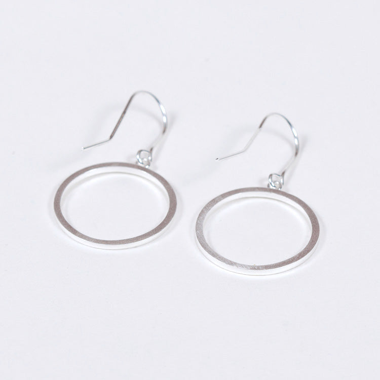 Pernille Corydon Genesis Silver Hook Earrings