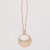 Product shot: Pernille Corydon Gold Daylight Long Necklace