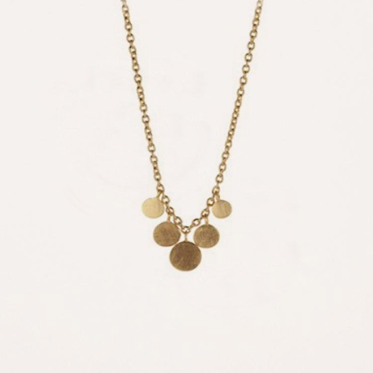Pernille Corydon Mini Coin Gold Necklace