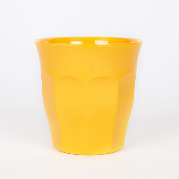 RICE Solid Yellow Melamine Cup - Available from Roo's Beach UK