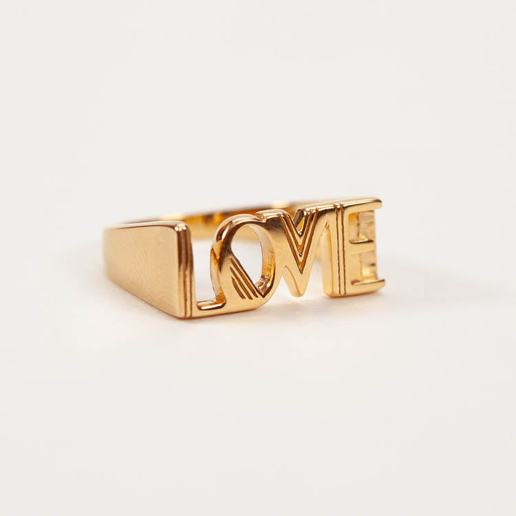 Product shot: Rachel Jackson Love Gold Ring