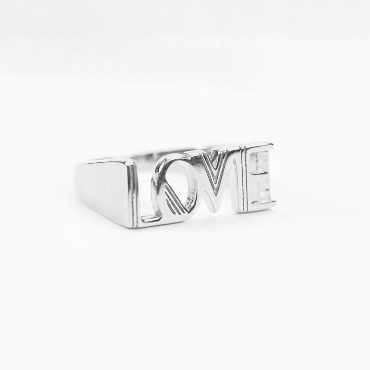 Product shot: Rachel Jackson Love Silver Ring