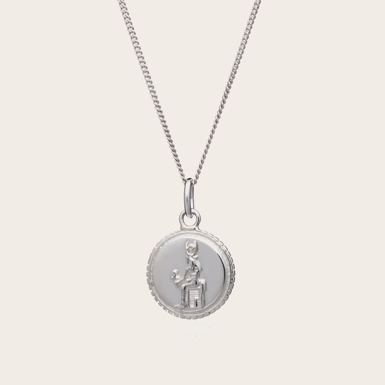 Rachel Jackson Queen of Revelry Silver Coin Necklace