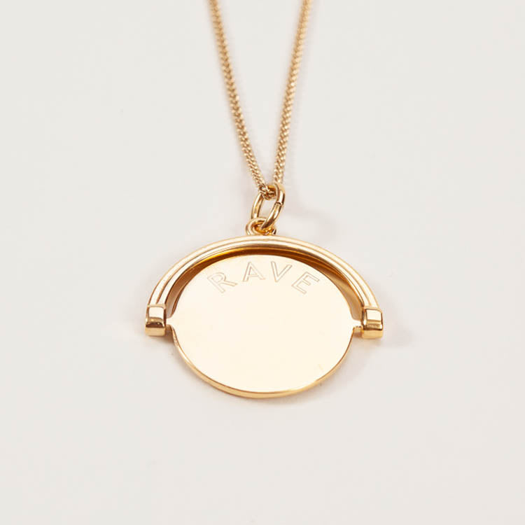 Product shot: Rachel Jackson Rave Behave Pendant Necklace