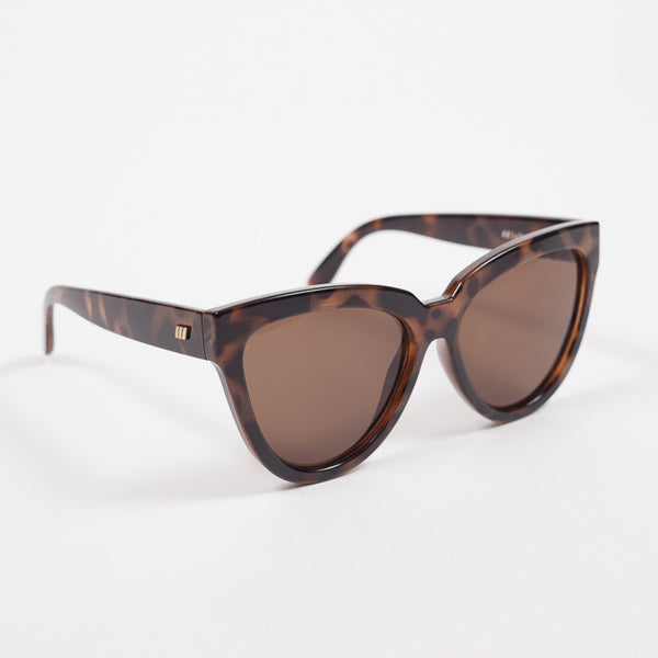 Le Specs Liar Liar Volcanic Tort Sunglasses available from Roo's Beach UK