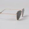 Product shot: Le Specs Echo Matte Gold Sunglasses