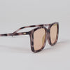 Product shot: Le Specs It Ain't Baroque Apricot Tort Mirrored Sunglasses