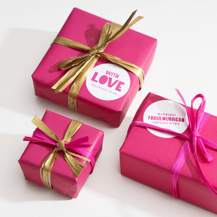 Roo's Beach Gift Wrapping Service | Get your gifts wrapped the Roo's Beach way
