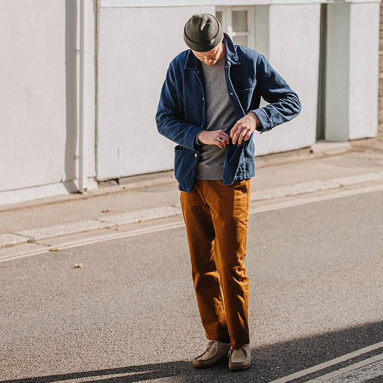Levi's Made & Crafted Men's Dark Ginger Chinos