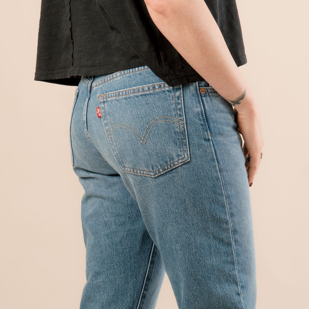 Levi's 501 Crop Athens Day To Day Denim Jeans