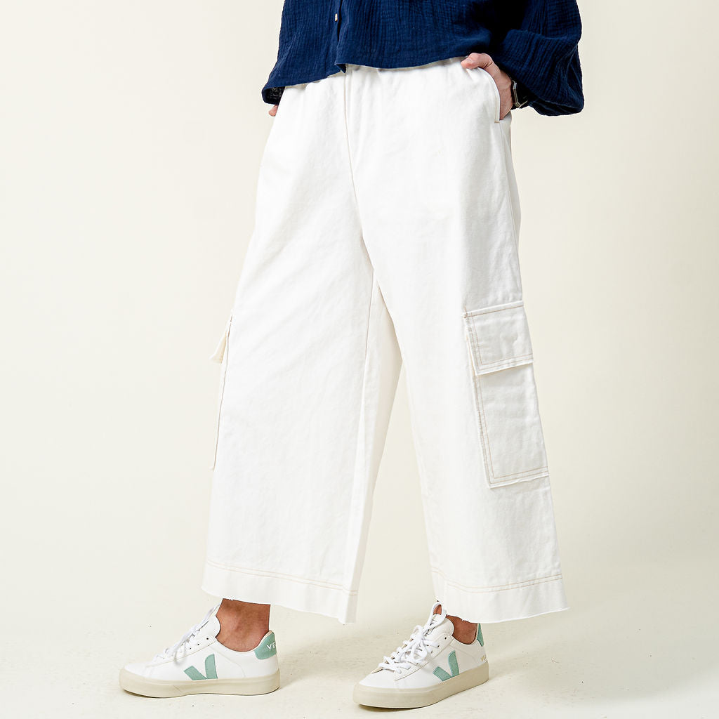 L.F. Markey White Ellis Trousers