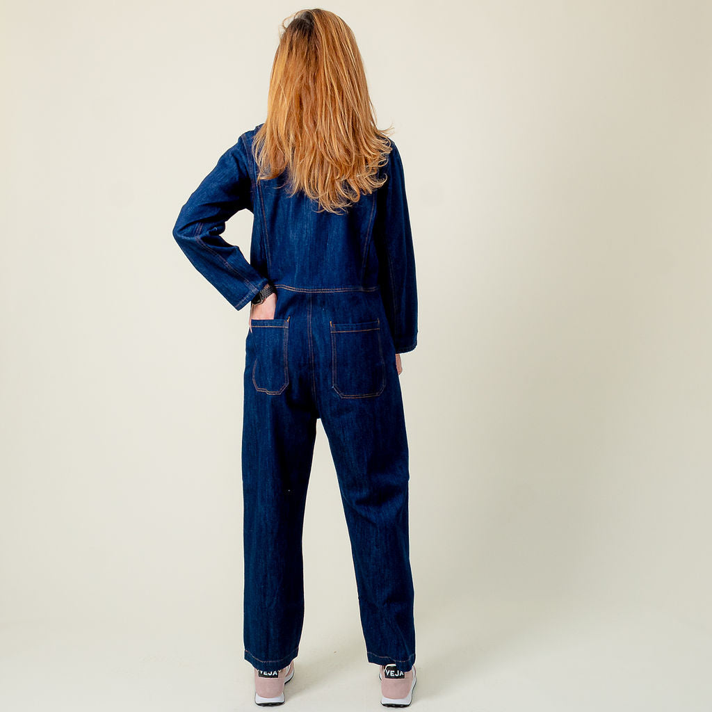 L.F. Markey Indigo Dominic Boilersuit