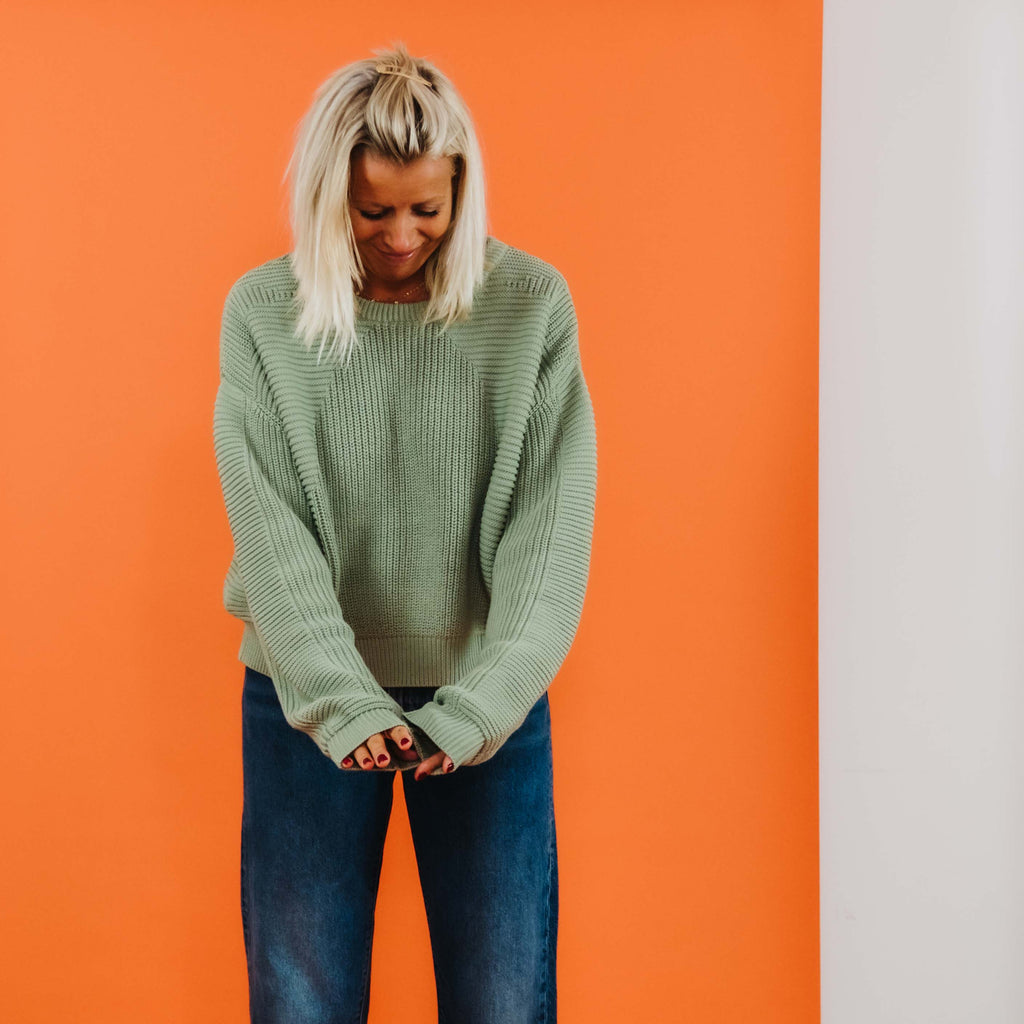 L.F. Markey Mint Julius Knit Jumper
