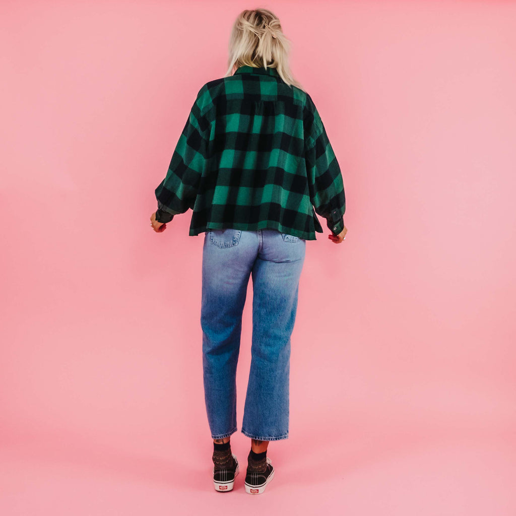 Bellerose Graff Green Check Shirt