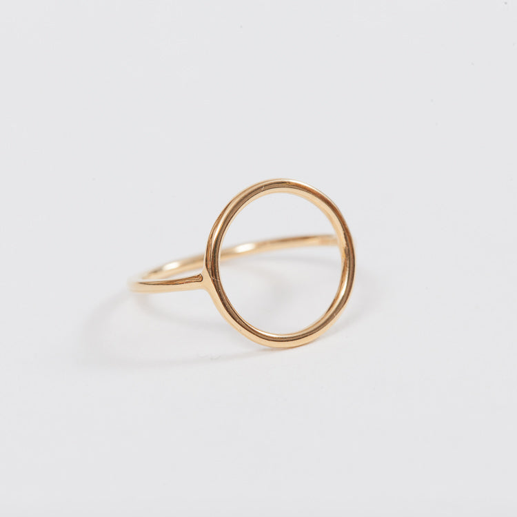 Product shot of the Pernille Corydon Gold Halo Ring