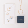 A selection of Pernille Corydon jewellery available from Roo's Beach UK