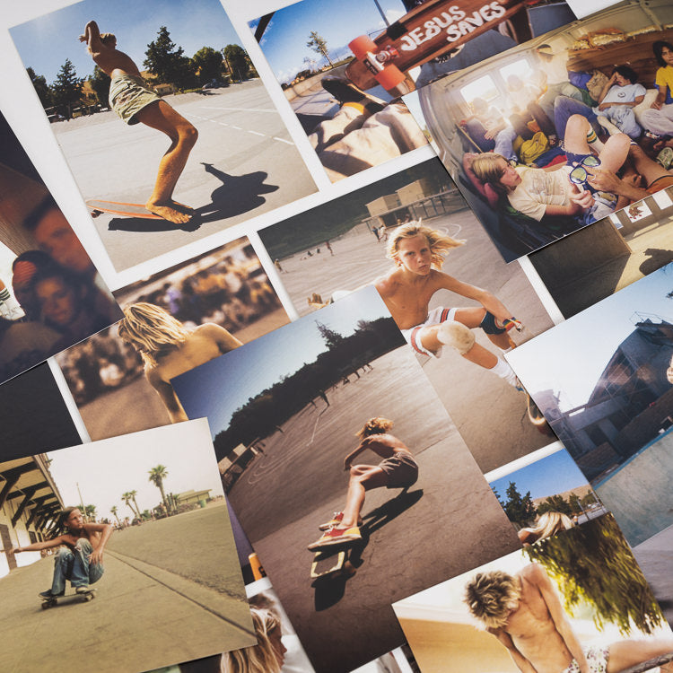 Sun Skate Seventies Postcards by Hugh Holland