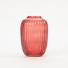 "Product shot"" Bloomingville Red Glass Vase"