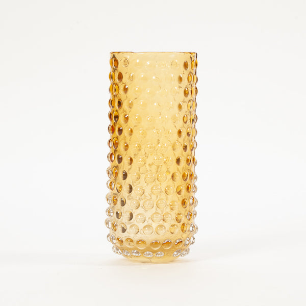Product shot of: Bloomingville Tall Brown Bubble Glass Vase
