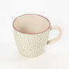 Bloomingville Patrizia Green Polka Dots Small Mug