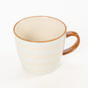 Product shot: Bloomingville Miami Blue Stripe Stoneware Mug
