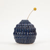 Product shot: Bloomingville Blue Stoneware Vase