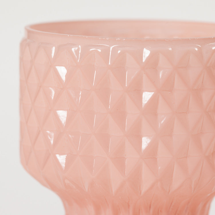 Detail shot of Bloomingville Rose Glass Vase