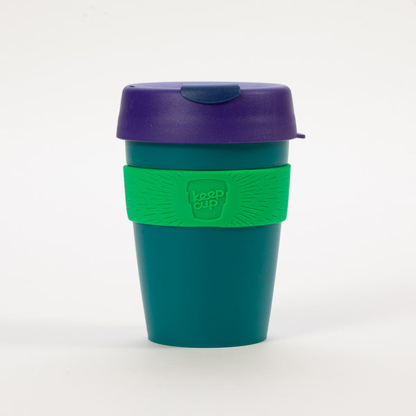 Product shot of KeepCup Forest Reusable Travel Cup 340ml