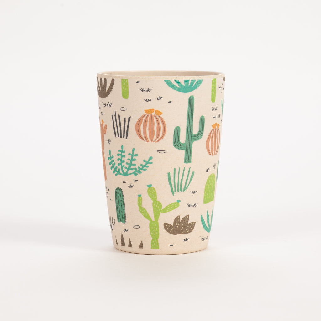 Product shot of Rex London Desert In Bloom Bamboo Cup
