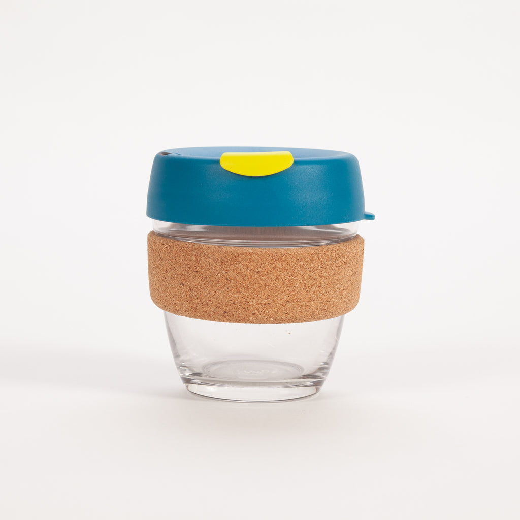 Product shot of KeepCup Brew Glass Reusable Cup 227ml | Turbine