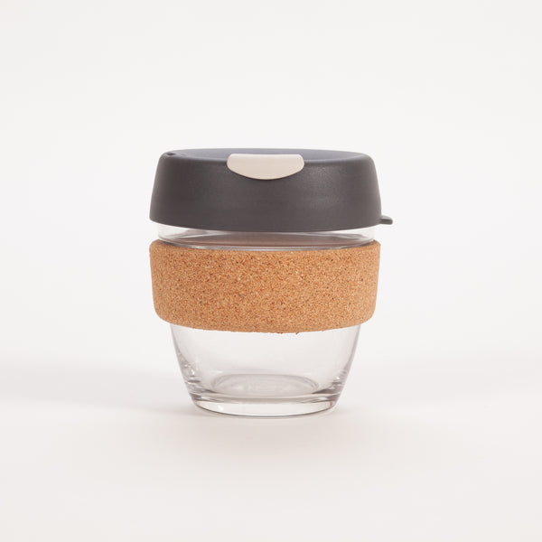 KeepCup Brew Glass Reusable Cup 227ml | Black