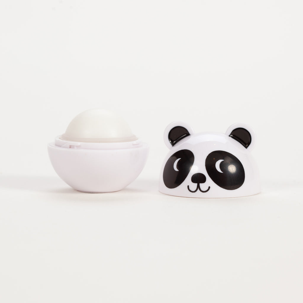 Product shot of Rex London Miko The Panda Lip Gloss open