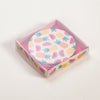 Product shot of Rex London Tropical Fruits Compact Mirror in packaging