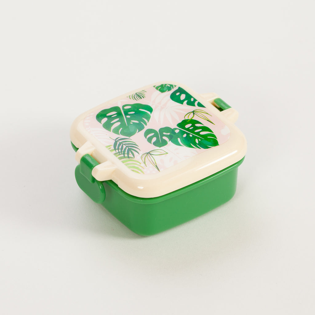 Product shot of Rex London Tropical Palm Mini Snack Pot
